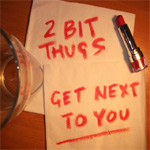 "2 Bit Thugs ft. Koaste and Farrah - Get Next To You 12"" [Corrupt Music]"