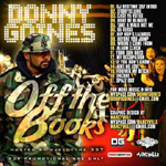 Donny Goines - Off the Books CD [Free]