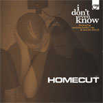"""Homecut ft. Corinne Bailey Rae And Soweto Kinch - I Don't Even Know 12"""" [First Word Records]"""