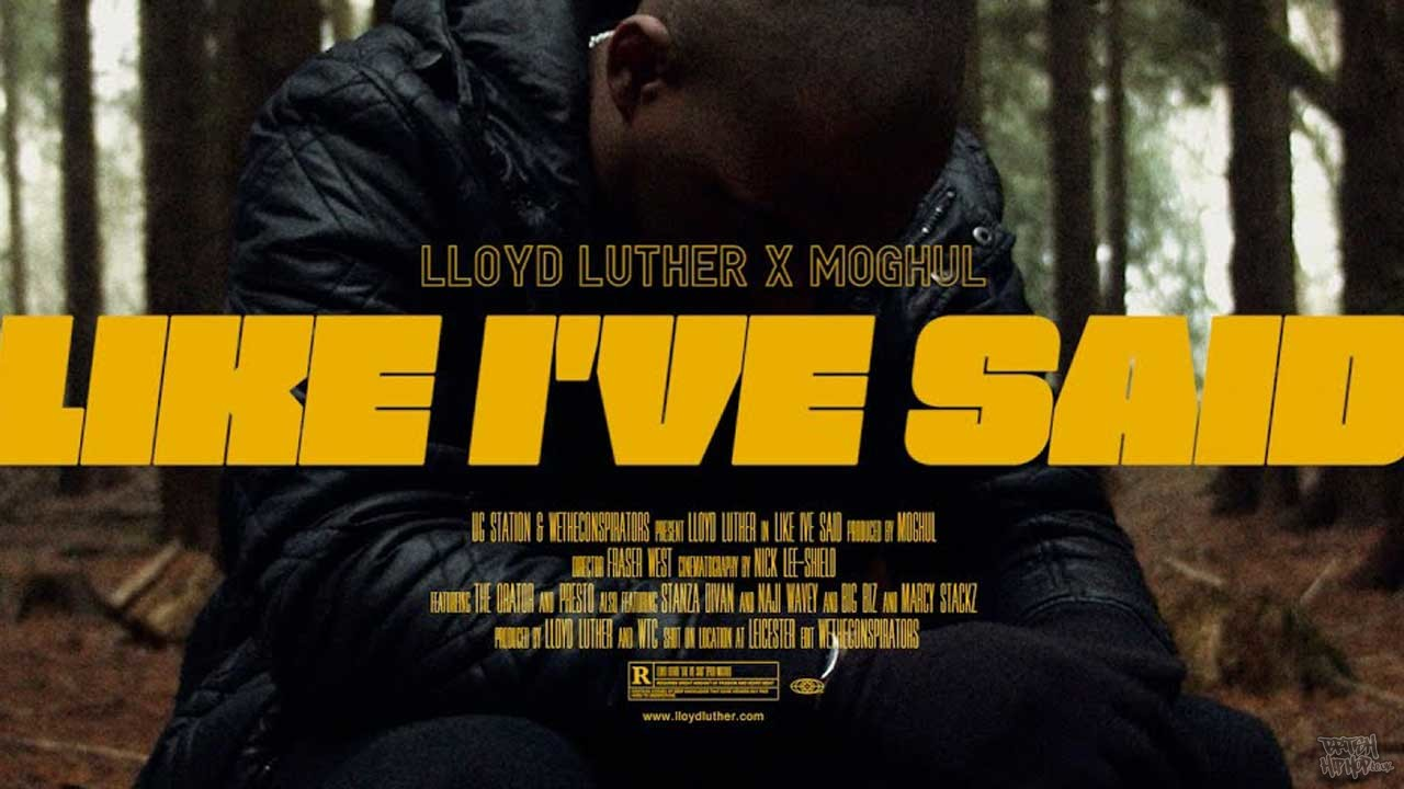 Lloyd Luther - Like I've Said