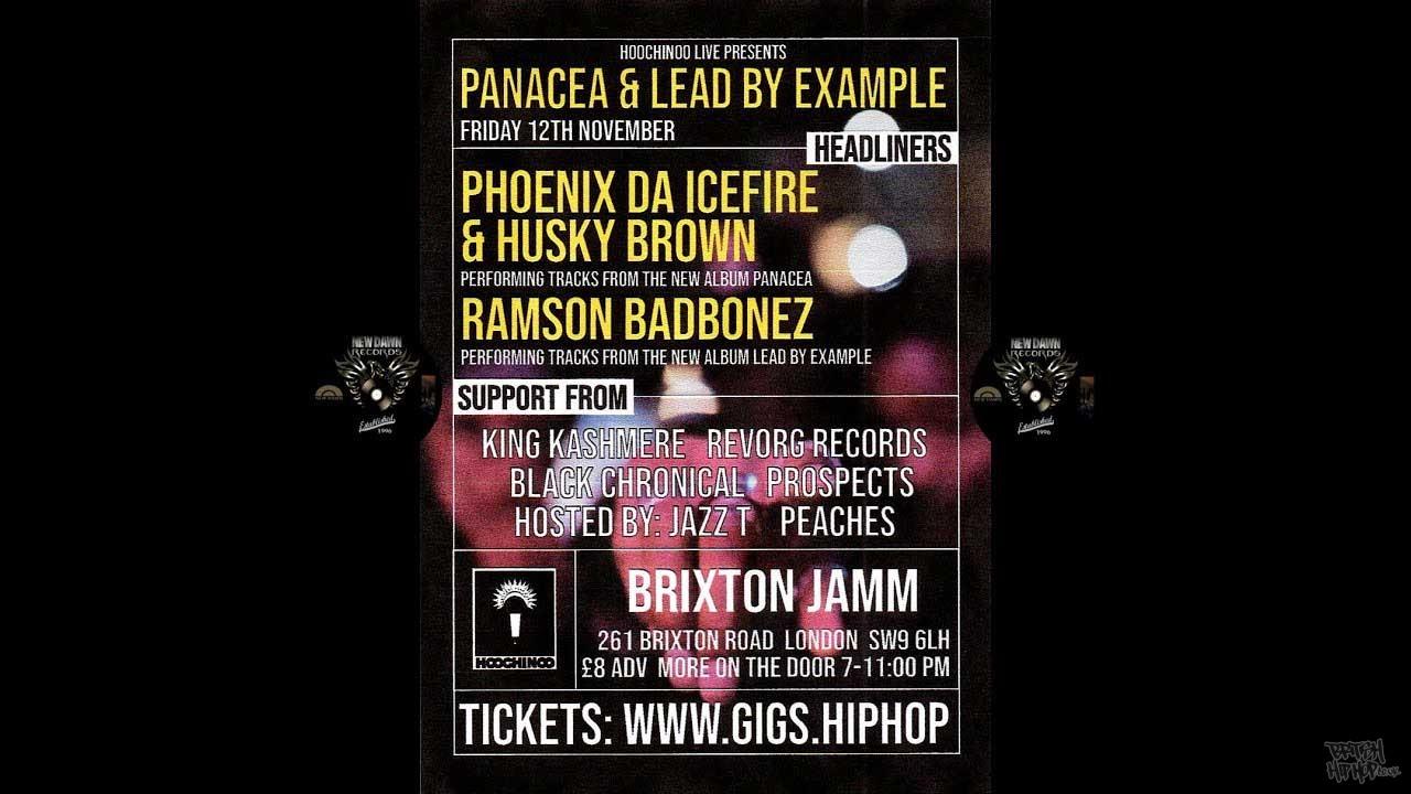 Phoenix Da Icefire, Husky Brown and Ramson Badbonez - Live at Brixton Jamm November 2021