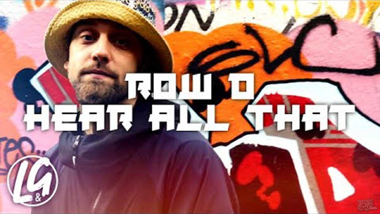 Row D - Hear All That