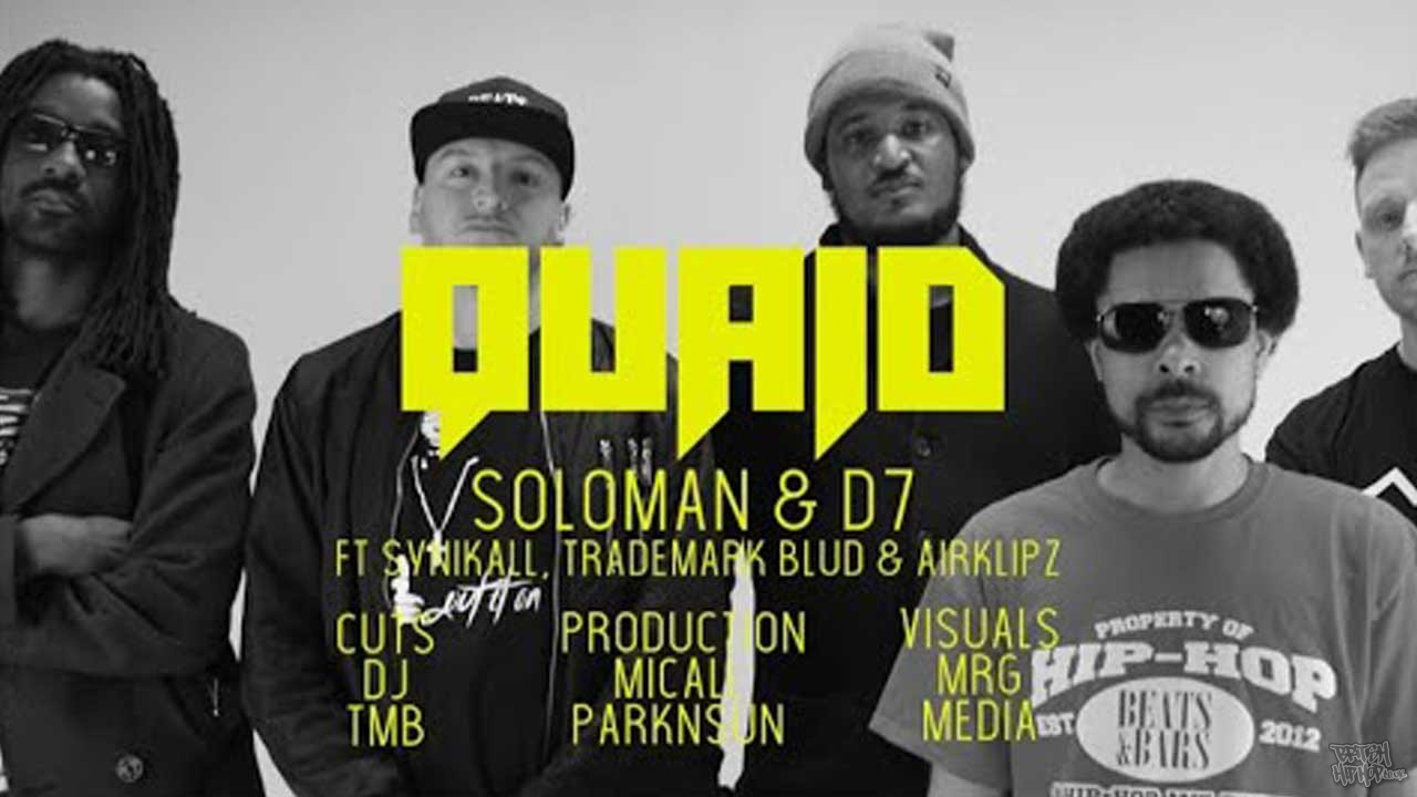 oloman and D7 ft. Synikall, Trademark Blud, Airklipz and DJ TMB - Quaid