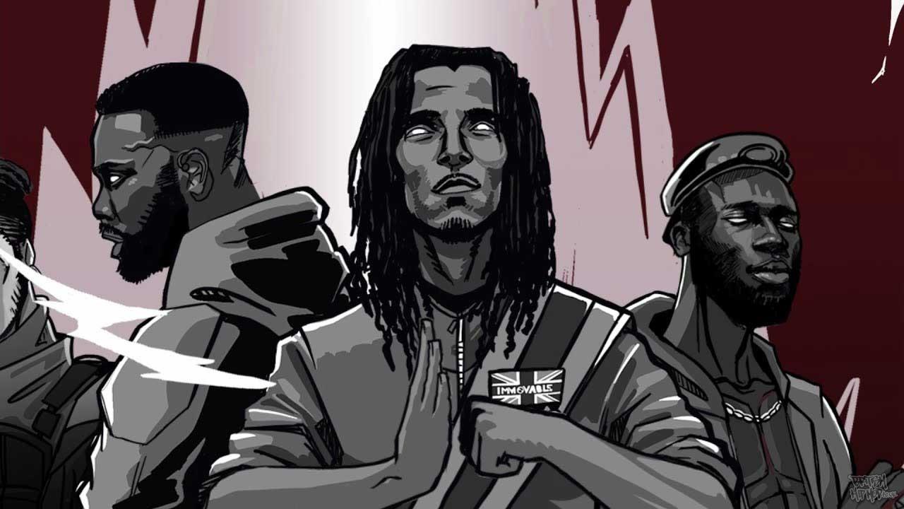 Swindle ft. Knucks, Ghetts, Akala and Kojey Radical - Blow Ya Trumpet