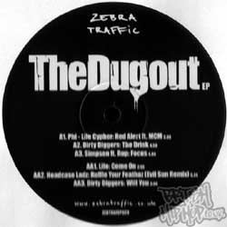 Dugout EP - Out Monday 15th May (Zebra Traffic)