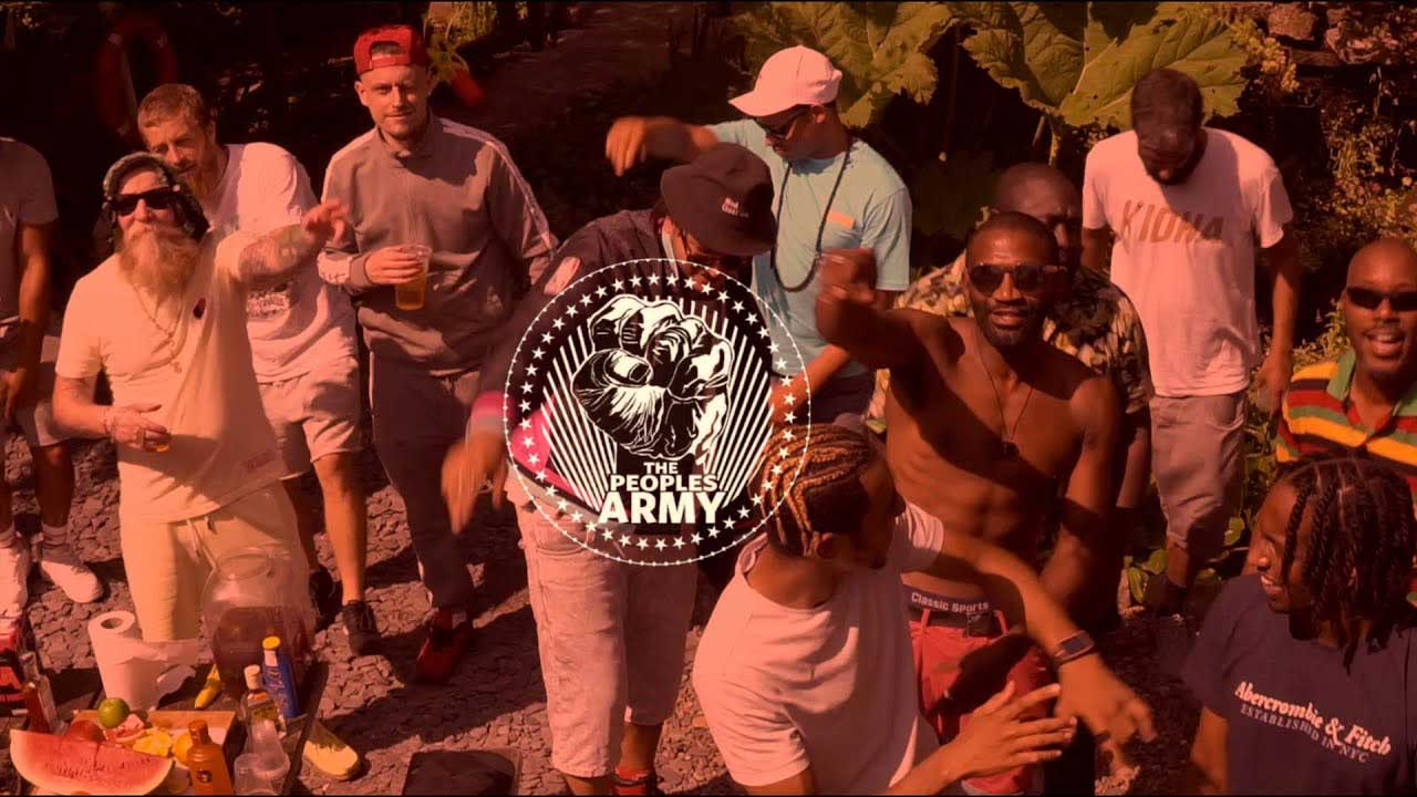 The Peoples Army - Summertime Wavy