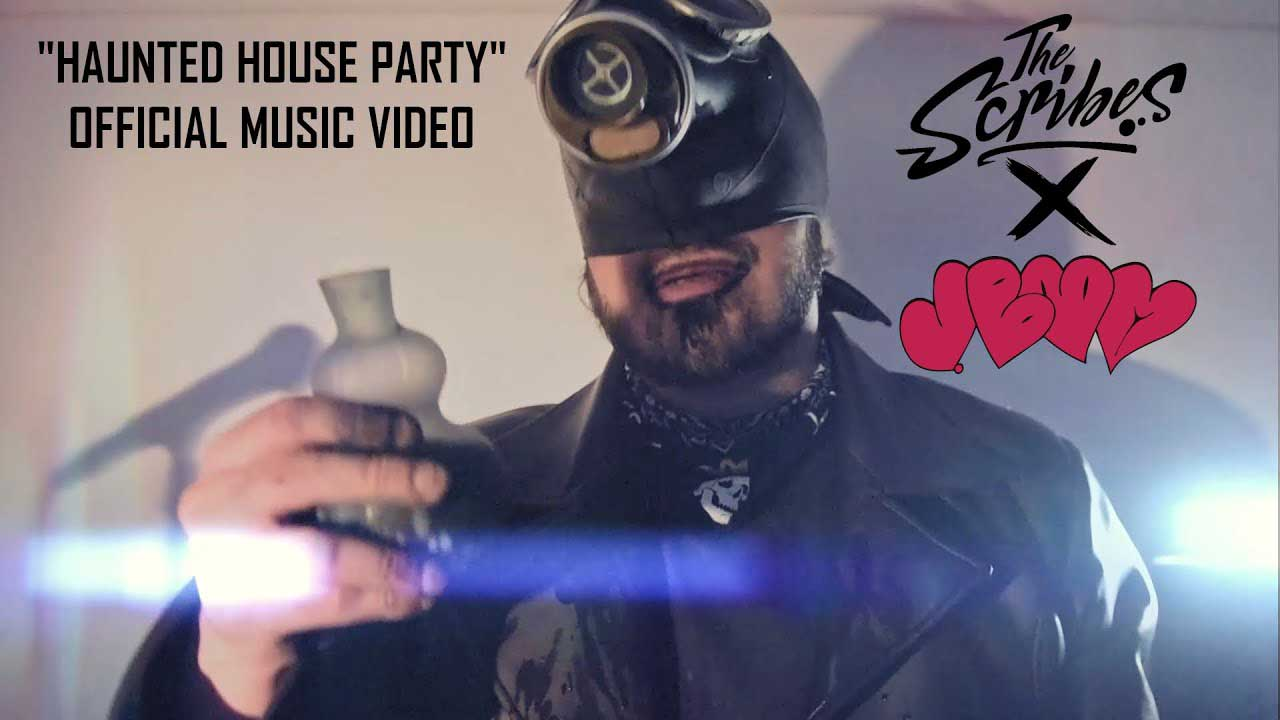 The Scribes X J. Boom ft. Mr Teatime and DJ Stedi - Haunted House Party