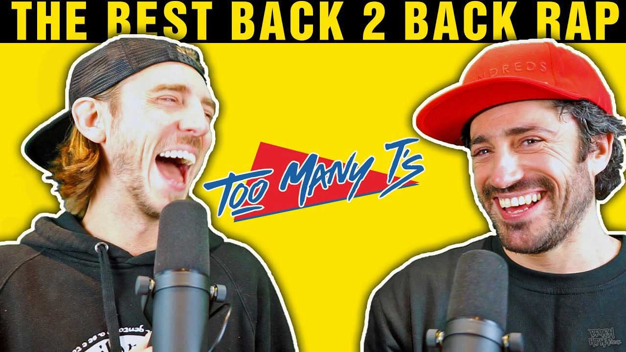 Too Many T's - The BEST Back 2 Back Rap Ever?