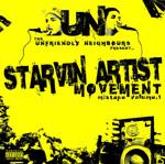 Unfriendly Neighbours - Starvin Artist Movement Mixtape Volume 1 CD [Rusty Jukebox]